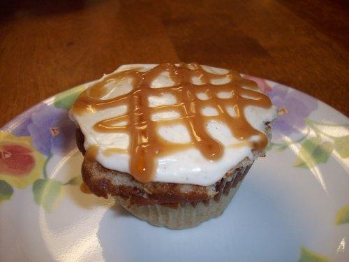 Caramel Macchiato Cupcake
