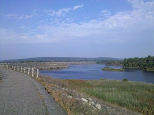 View #3 from my walk at Mansfield Hollow Dam
